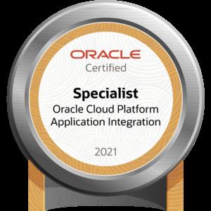 Oracle Cloud Platform Application Integration 2021 Certified Specialist