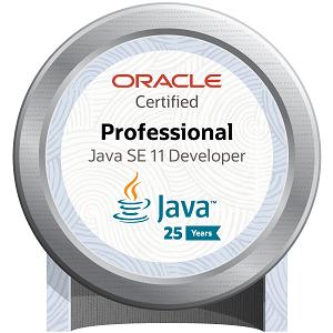 Oracle Certified Professional: Java SE 11 Developer